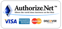 Secure Payments accepted by Authorize.Net